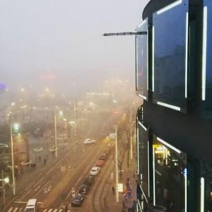 Bin grad wieder in die Nebelsuppe von Klagenfurt eingetaucht... leider war es gestern beim Instameet im @rubyhotels...
