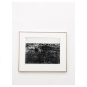 Vija Celmins, View of Quarry, 1992 #art #etching #Vienna #Wien Vienna Secession