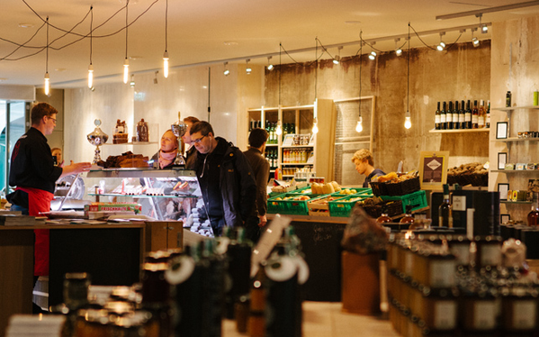 #vienna has a new foodie temple, the indoor market concept store 'marktwirtschaft':