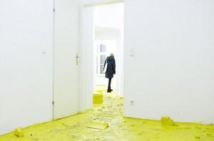 'I'll devour your eyes' Hugo Canoilas @galerieandreashuber (📷@kriskulakova) #contemporaryvienna #contemporaryart #igersart #igersvienna #artwatchers #hugocanoilas Galerie Andreas Huber
