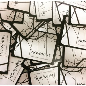 #NOWHERE #ephemeral #groupshow #tomorrow ❤️ OPENING 29 JAN 2016 NOW/HERE (30 JAN - 21 FEB) ARTISTS #andyboot...