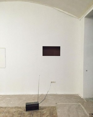 Galerie98 gettin there #whitepainting #gallery #burggasse98 Burggasse 98