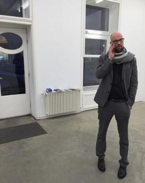 @andreasduscha #winningheartsandminds tonight ✨ Christine Koenig Galerie