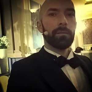 Your host tonight #vienna #grandehotel #aicr