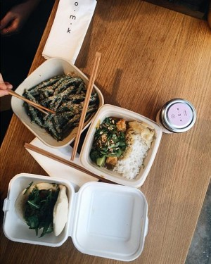 // LUNCH // #lunch #food #foodblogger #omk #mochi #austrianblogger #bff #sun #vegetarian O.M.K