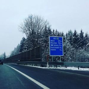 Baba #rauris. #liesing ich komme wieder! #heimfahrt #autobahn #salzburg #wien #abreise #rückreise #urlaubsende