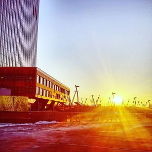 Tschüss Sonne. #sonne #sonnenuntergang #wien #igerswien #welovevienna #vienna #dctower #donaucity #donaustadt #kaisermühlen #sunset #sun #vienna