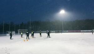 Trainingsauftakt bei bestem Fußballwettet #faklive