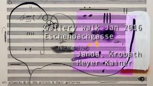 [NEW VID ONLINE] Gallery walk Jan 2016 Eschenbachg: Janda, Krobath Meyer Kainer #art #Vienna