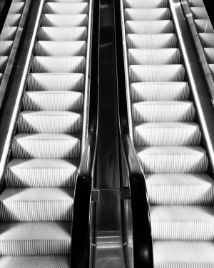 Rolltreppe vom Stilwerk im 2. Bezirk! - - Escalator from Stilwerk in the 2nd district! - -...