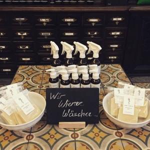 Wir Wiener Wäscher... we love essential oils in our soaps #apothekerserie #saintcharlesapotheke #organicbeauty #photooftheday