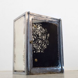 #andreasduscha #christinekoeniggalerie #winningheartsandminds #vienna #sculpture #tresor #mirrors #2016