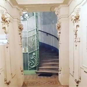 ..and up the stairs #vienna #artdeco #jugendstil
