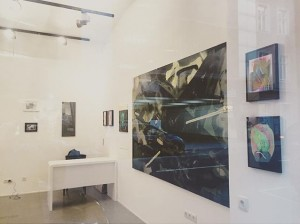 The @oxymoron_galerie is open TODAY - check out our current# exhibition