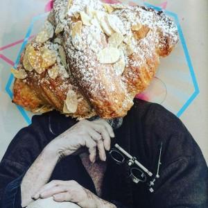 Frangipani croissant#mandel#frangipane #marzipan #croissant #12munchies