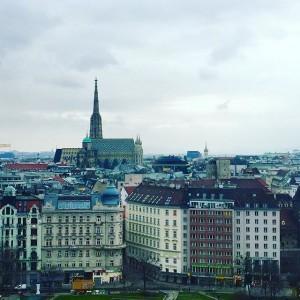 Viennasky #vienna #wien #welovevienna #igersvienna #igersaustria #clouds #cloudsporn #cityview #view IBM Client Center Wien