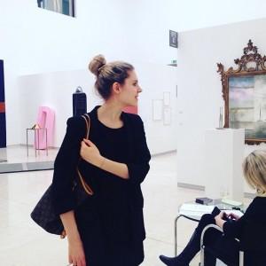 Mit meiner liebsten Christina @auswienmitliebe bei der ART Austria 🇦🇹❤️ vielen lieben Dank @hellopippa für die Tickets...