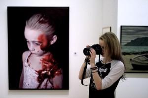 Helnwein 😍👌 #artaustria #ausstellung #helnwein #gottfriedhelnwein #wien #leopoldmuseum #kunst