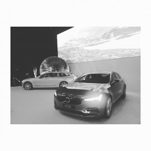 Today at the launch of the new VOLVO S90 and V90. Go Sweden! #swedishpower #volvo #madebysweden #v90...