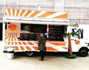 Mr Fly's 🌴 ein neuer super cooler Foodtruck der unter der Woche vor dem Museumsquartier steht 👌...