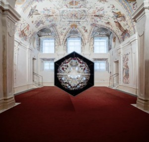 Last day of Baroque Baroque. Thanks to everyone who visited and made the artworks feel at home...