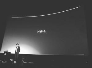 Hello Sagmeister. #sagmeister #forward #forwardfestival #creative #forwardcreatives #talk #stefansagmeister @stefansagmeister Gartenbaukino