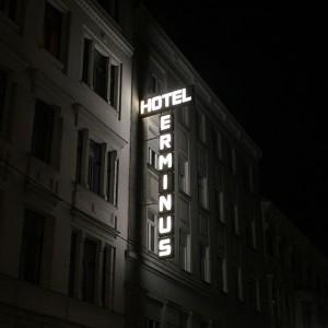#hotelterminus #signage #hotel #signage #1060 #mariahilf #wien Hotel Terminus