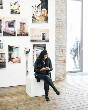 When Instagram is life. @juz_me at the Zoom exhibition by the Viennese Center for Architecture. Architekturzentrum Wien