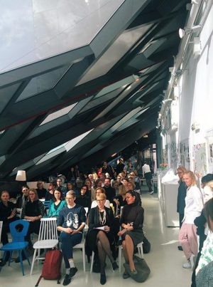 Pressegespräch #VIENNADESIGNOFFICE #fullhouse #vdw2016 #tenyears stilwerk Wien