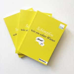 Our first #givaway! Thanks to Holzbaum Verlag, we've got three copies of #SchimpfenWieeinEchterWiener for you. All you...