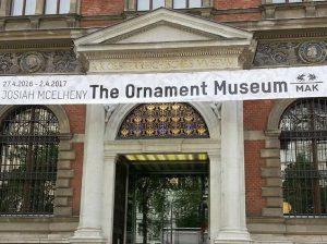 The #ornamentMuseum by #NewYork based artist #JosiahMcElheny @mak_vienna inspired by #findeciècle #Jugendstil #WienerModerne artist #JosefHoffmann Opening tonight...