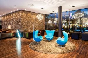 Motel One Wien-Prater Vienna is waiting for you, equipped with our signature chair & perfect lighting! #Vienna...