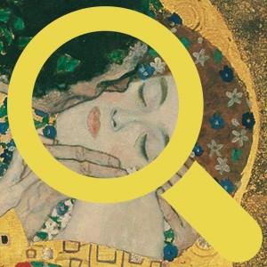 #zoomMV Gustav Klimt´s Kuss und das Gesicht der Frau. #MuseumWeek