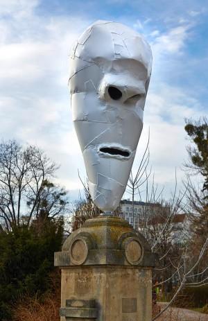 #loveMW #MAKVienna in Public Space #LemurHeads #FranzWest #MuseumsWeek