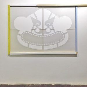 Stencil with shadow - PAUL BUSK, Michael West, Manuel Murel and Error are the participants for the...