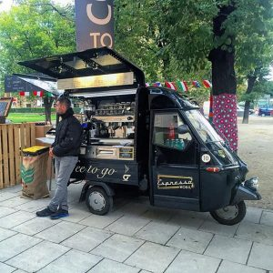 Coffee to go.. MQ – MuseumsQuartier Wien
