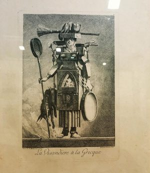 Конец 19го века, фрагмент из французского модного журнала, вариант наряда на маскарад в греческом (???) стиле #vienna...