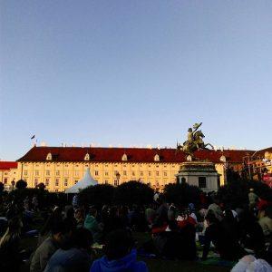 Ich hoffe beim nächsten Fest der Freude, sitzt in der Hofburg kein Faschist #festderfreude #fdf16 #vienna #niemalsvergessen...