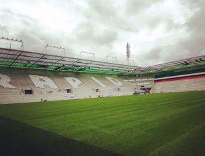 Viele Bilder vom neuen Rasen im #AllianzStadion gibt es unter Allianz Stadion