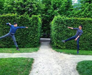 Hogwarts'ta ders arası #magic #training #challenge Schloß Schönbrunn