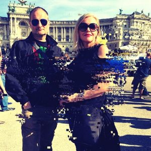 STR at the presidential rave for A. Van der Bellen at Heldenplatz, E #stationrose #digitalart #vienna #vanderbellen