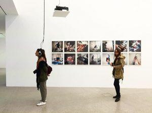 Bloody exhibition @mumok_wien @annesophievall @laurene_vall MUMOK - Museum moderner Kunst Wien