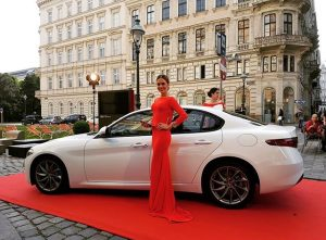 Tonight! #alfaromeo at #bueroschluss #afterwork #party #lemeridienvienna