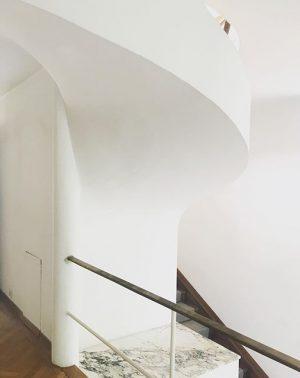 #villabeer #joseffrank #stairs #design #architecture #vienna Villa Beer