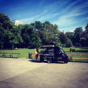 #goodmorning #coffee ☕️🇮🇹☕️🇮🇹#espressomobil ##vienna #city #espressomobilwien Stadtpark, Vienna