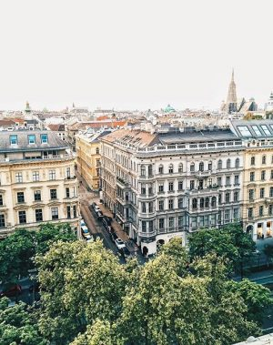 Vienna wonderful view ☀️💚☀️ NEW BLOG post: