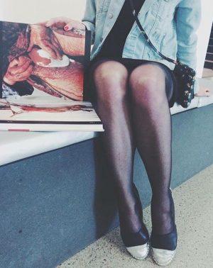 Nitsch and legs MUMOK - Museum moderner Kunst Wien