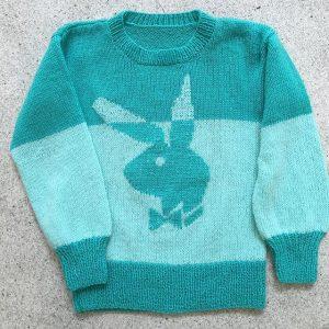 #Playboy #bunny #knitwear #vintage #sweater #aqua #shop #burggasse24 #wien #vienna
