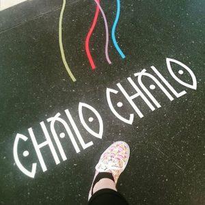 Follow the lines to unlock fun! #chalochalo #zamspielen MQ – MuseumsQuartier Wien