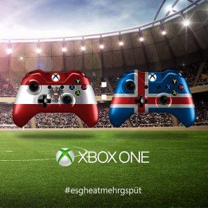 Morgen um 18Uhr geht es für unser Nationalteam um Alles. #EM #AUTISL #Austria #Island #esgheatmehrgspüt #XboxAT #GOLD...